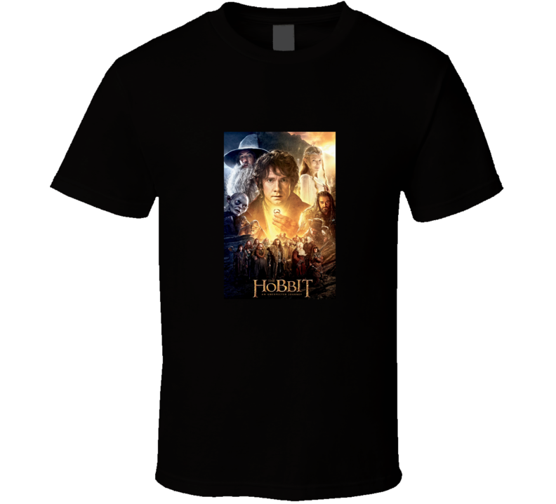 The Hobbit An Unexpected Journey Movie Fan T Shirt