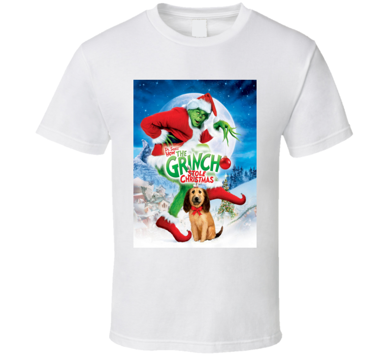 How The Grinch Stole Christmas Movie Poster.Dr Seuss How The Grinch Stole Christmas Movie Poster T Shirt