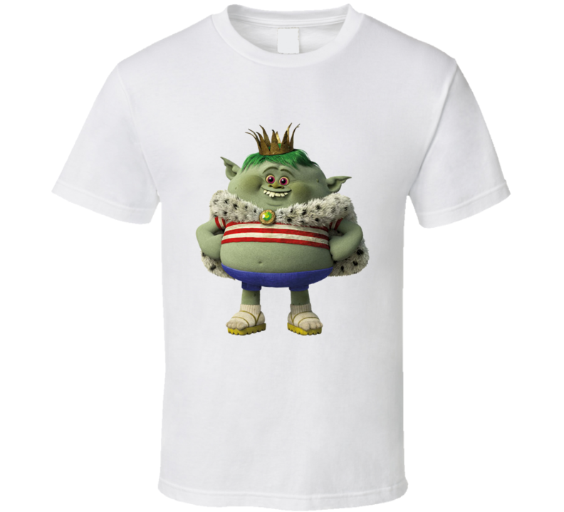 Prince Gristle Jr Character From The Movie Trolls Shirt