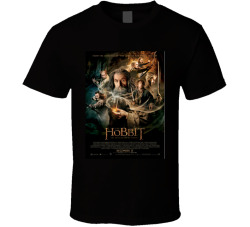The Hobbit The Desolation Of Smaug Movie Fan T Shirt
