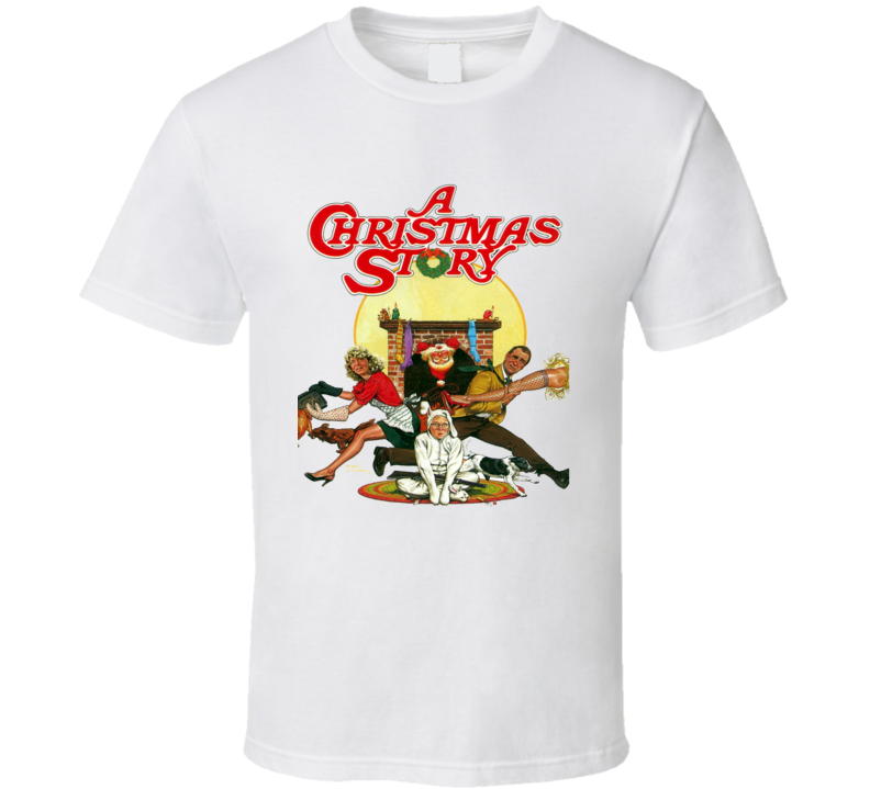 Christmas Story Shirts.A Christmas Story Movie Cover T Shirt