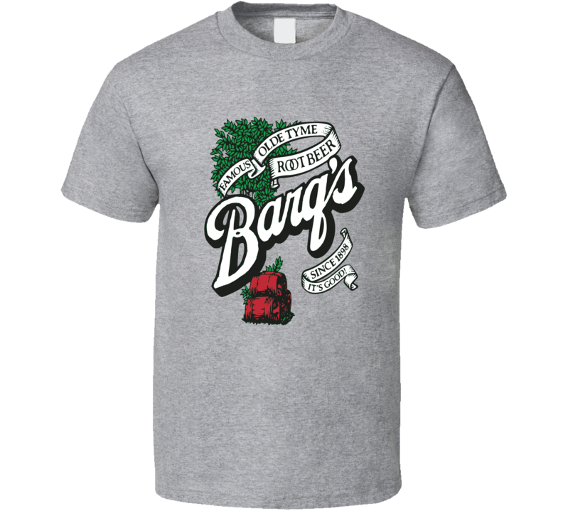 Barq's Root Beer Soda Pop Logo T Shirt