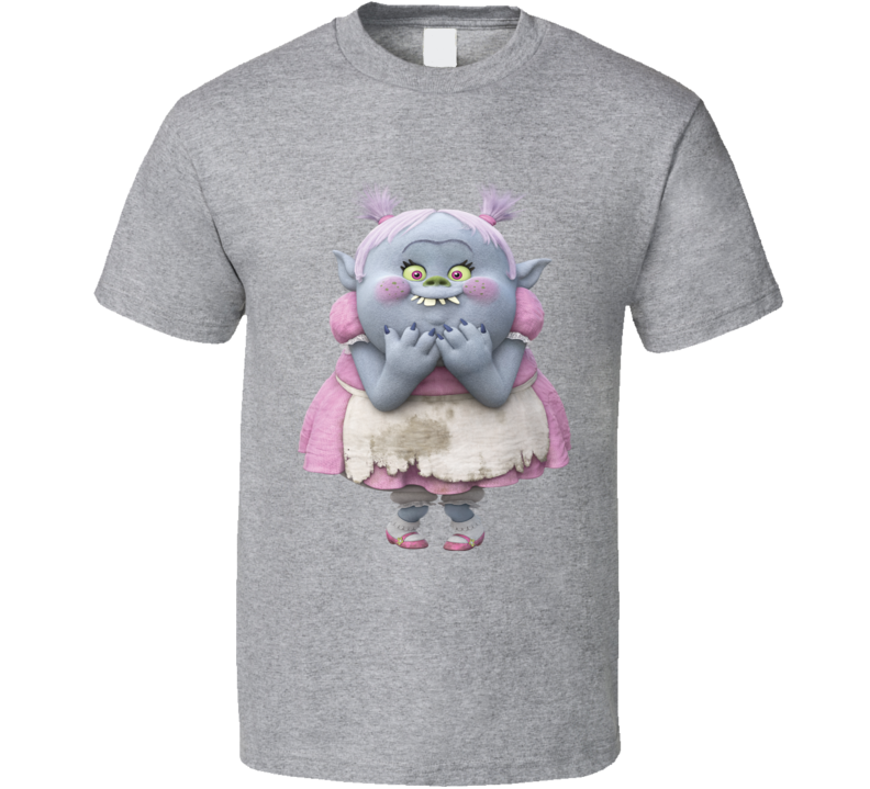 Bridget Character From The Movie Trolls Shirt